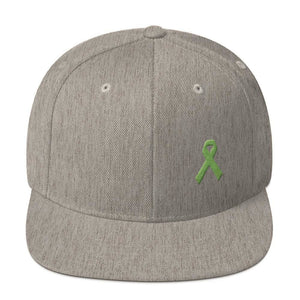 Lymphoma Awareness Snapback Hat - One-size / Heather Grey - Hats
