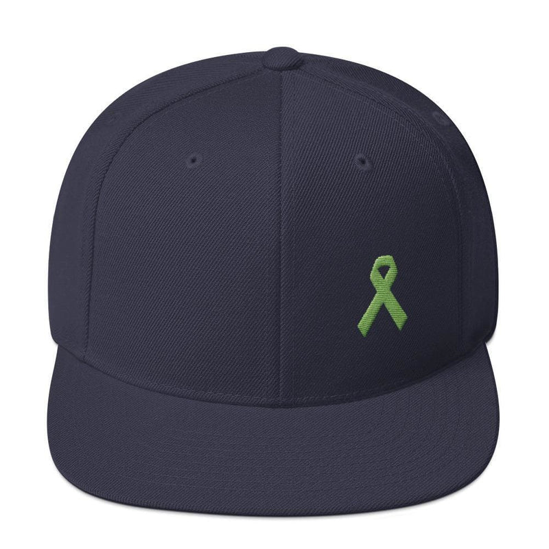 Lymphoma Awareness Snapback Hat - One-size / Navy - Hats