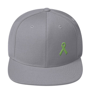 Lymphoma Awareness Snapback Hat - One-size / Silver - Hats