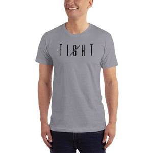 Mens Fight T-Shirt - XS / Slate - T-Shirts