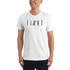 Mens Fight T-Shirt - XS / White - T-Shirts