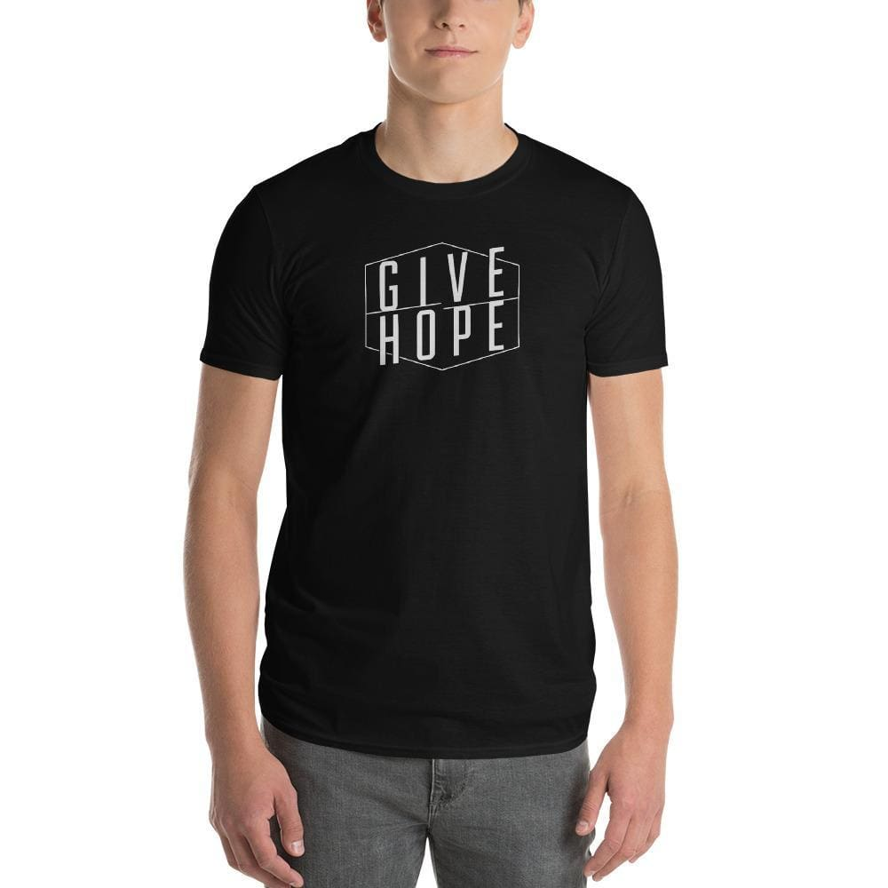Mens Give Hope T-Shirt - S / Black - T-Shirts