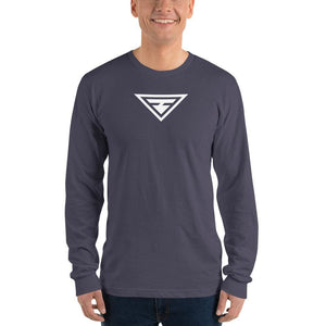 Load image into Gallery viewer, Mens Hero Long Sleeve T-Shirt - S / Asphalt - T-Shirts