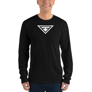 Load image into Gallery viewer, Mens Hero Long Sleeve T-Shirt - S / Black - T-Shirts