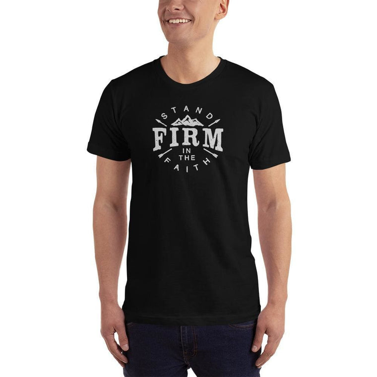 Men's Stand Firm in the Faith Christian T-Shirt