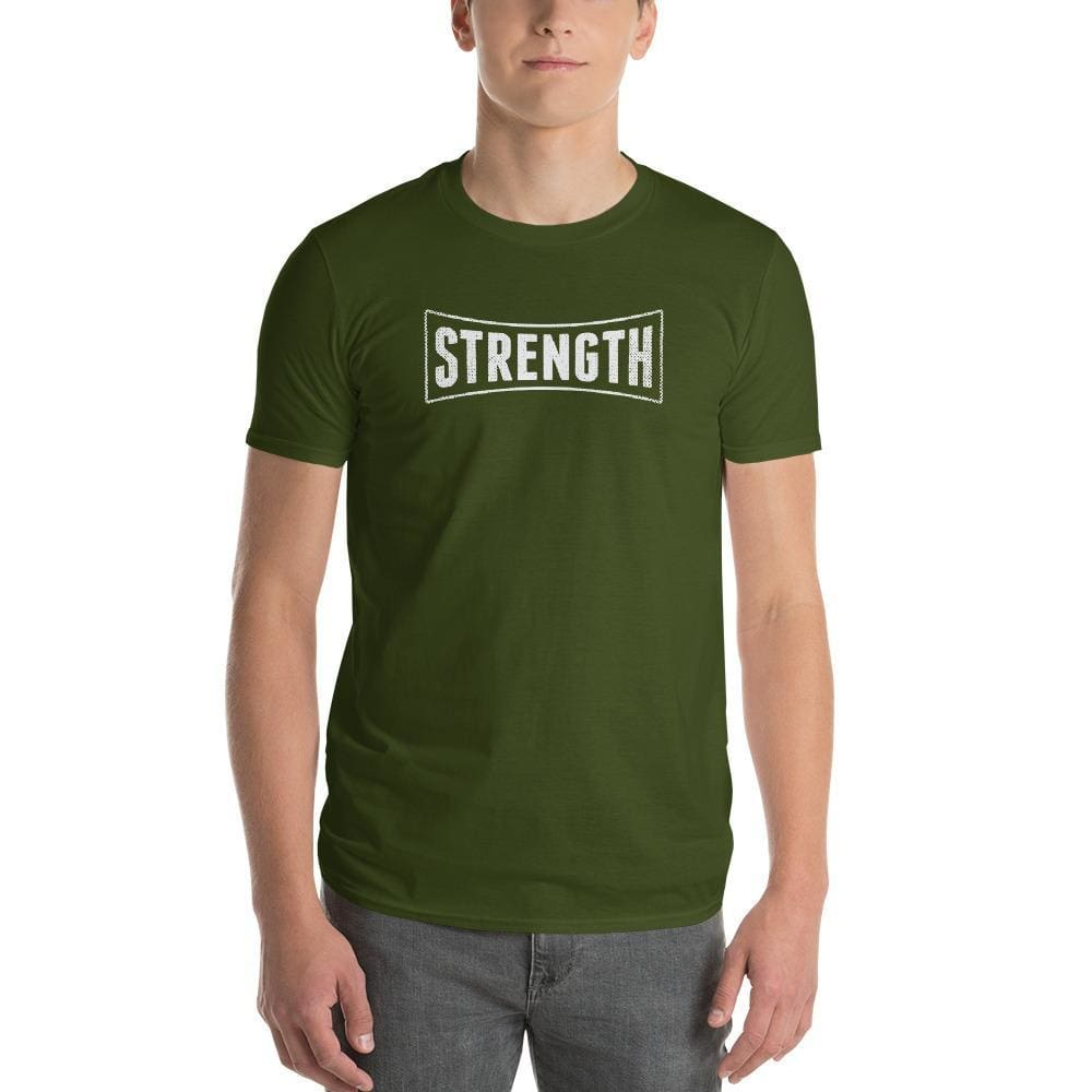Mens Strength T-Shirt - S / City Green - T-Shirts