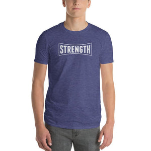 Mens Strength T-Shirt - S / Heather Blue - T-Shirts