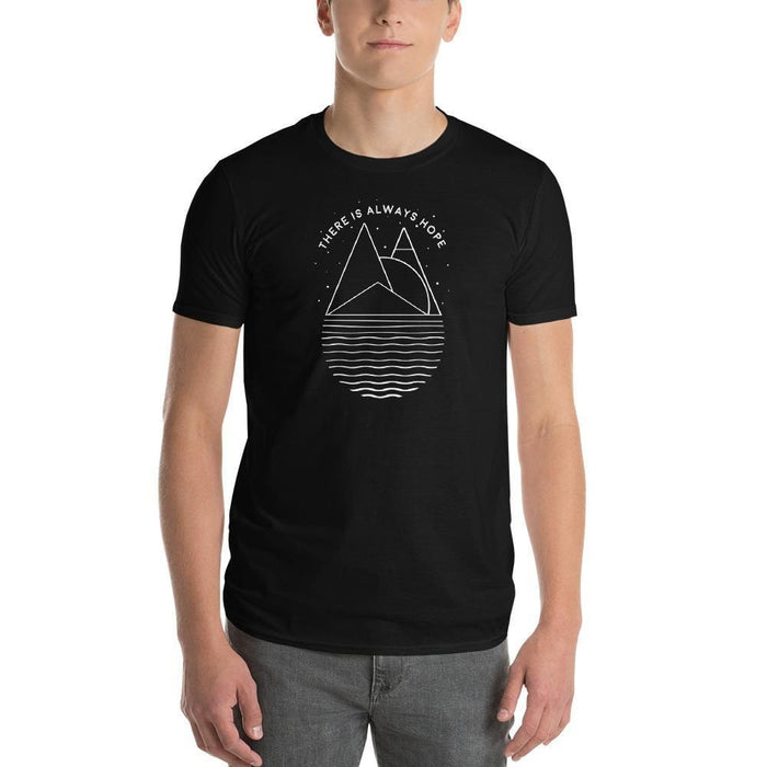 Mens There is Always Hope T-Shirt - S / Black - T-Shirts