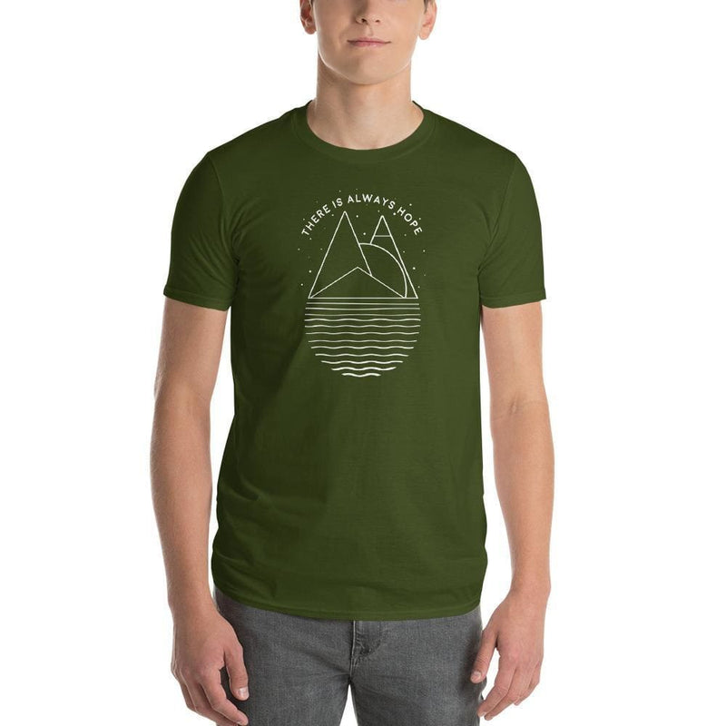 Mens There is Always Hope T-Shirt - S / City Green - T-Shirts