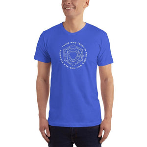 Mens Those Who Trust in the Lord Will Find New Strength Christian T-Shirt - S / Royal Blue - T-Shirts