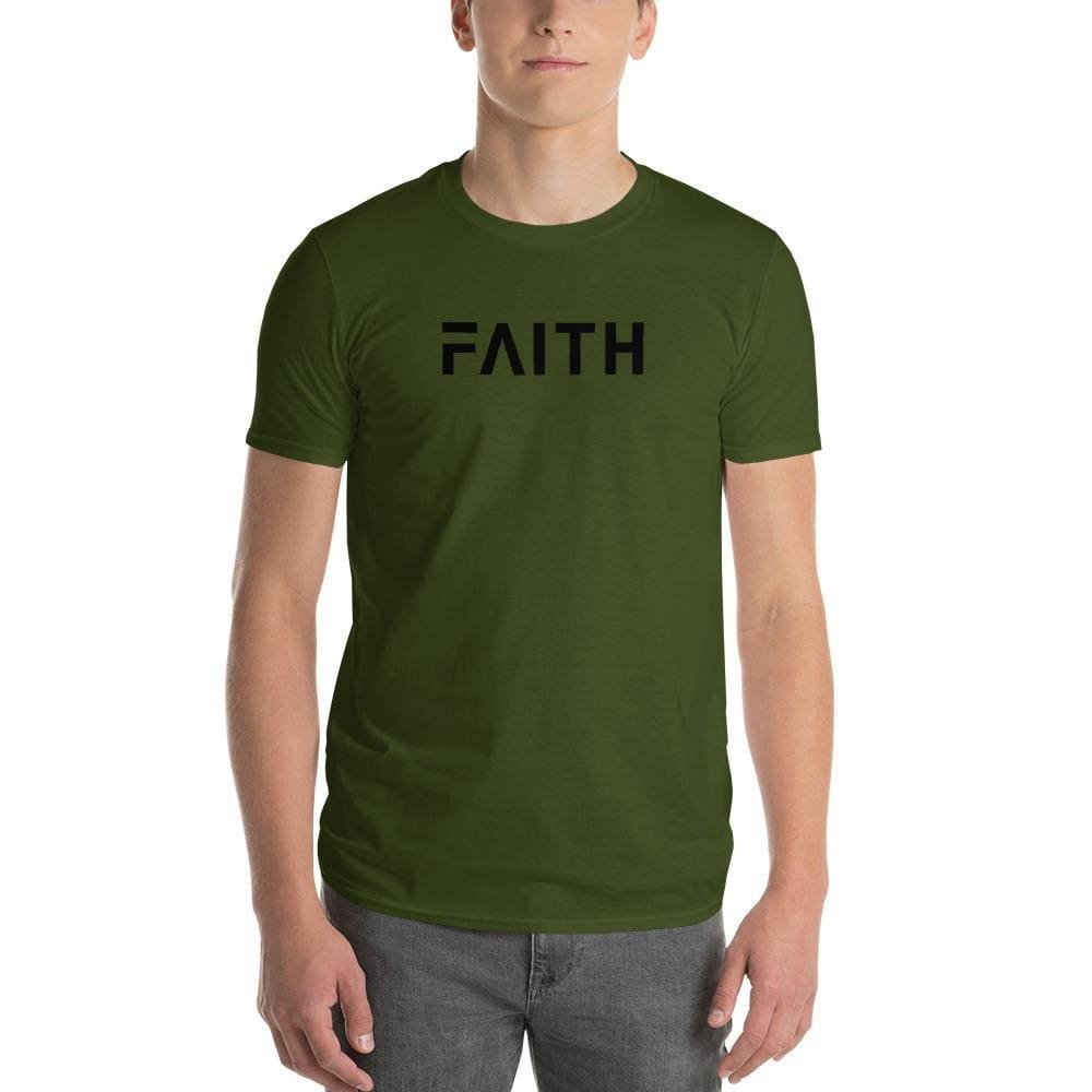 Load image into Gallery viewer, Simple Faith Mens T-Shirt - S / City Green - T-Shirts