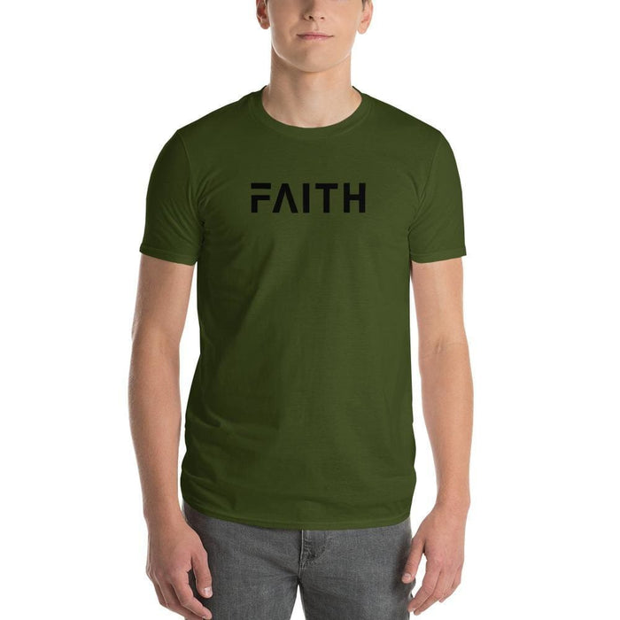 Simple Faith Mens T-Shirt - S / City Green - T-Shirts