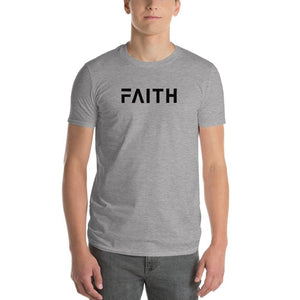 Simple Faith Mens T-Shirt - S / Heather Grey - T-Shirts