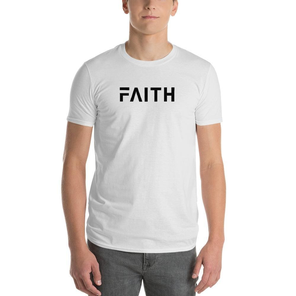 Simple Faith Mens T-Shirt - S / White - T-Shirts