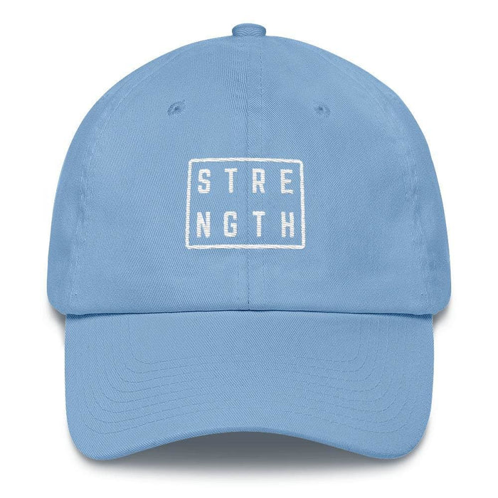 Strength Square Baseball Cap - One-size / Carolina Blue - Hats