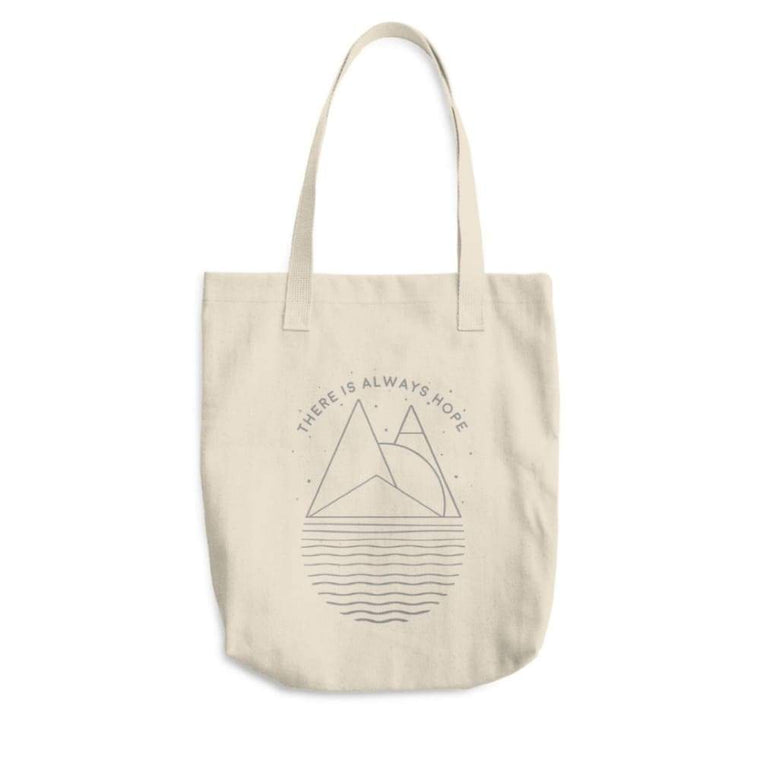 There is Always Hope Cotton Tote Bag (Made in the USA)