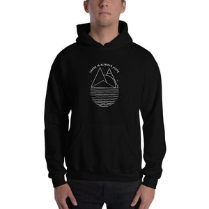 There is Always Hope Hoodie Sweatshirt - S / Black - Sweatshirts