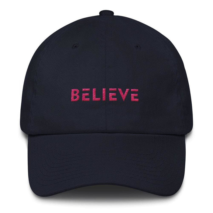 Womens Believe Dad Hat - One-size / Navy - Hats
