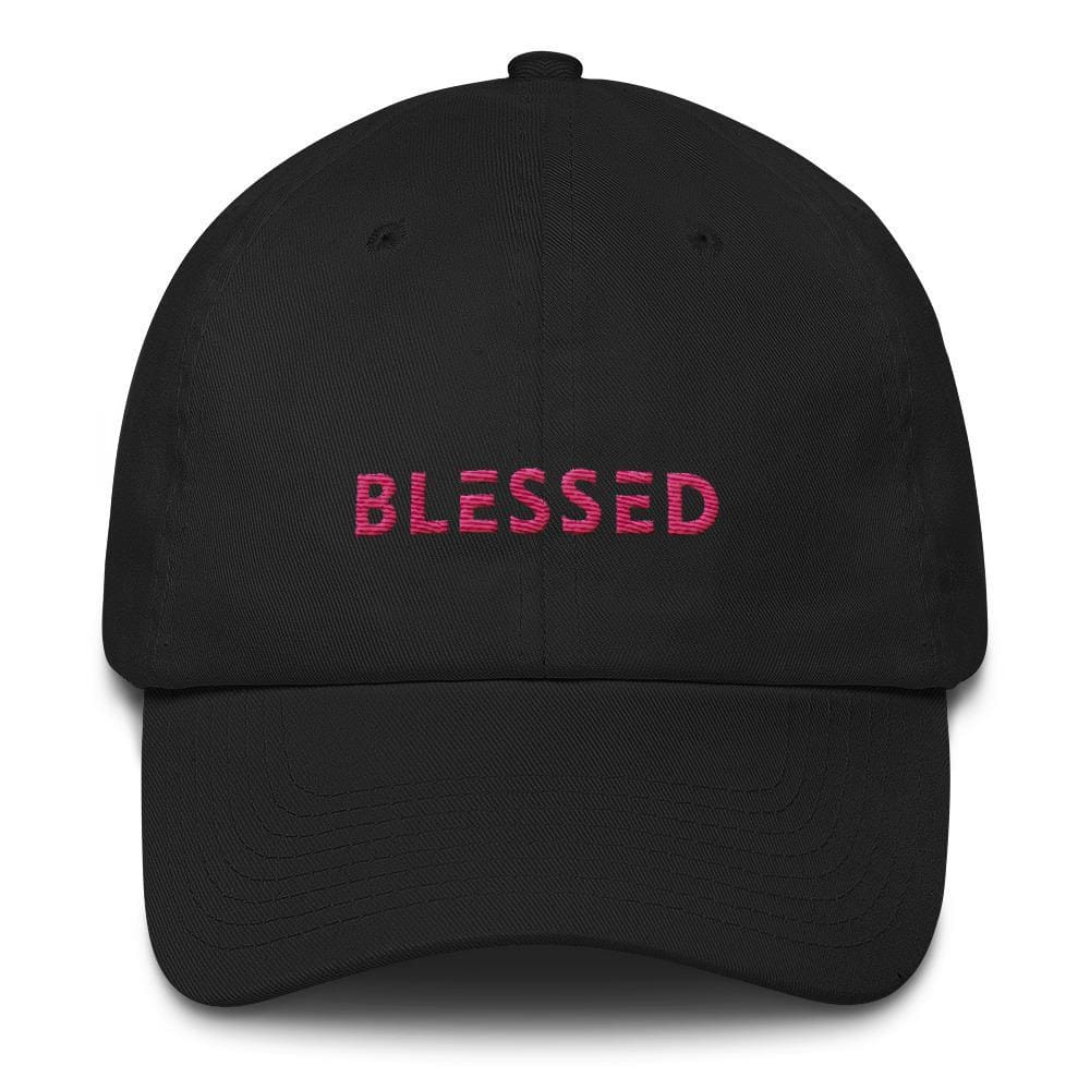 Womens Blessed Baseball Cap / Dad Hat - One-size / Black - Hats