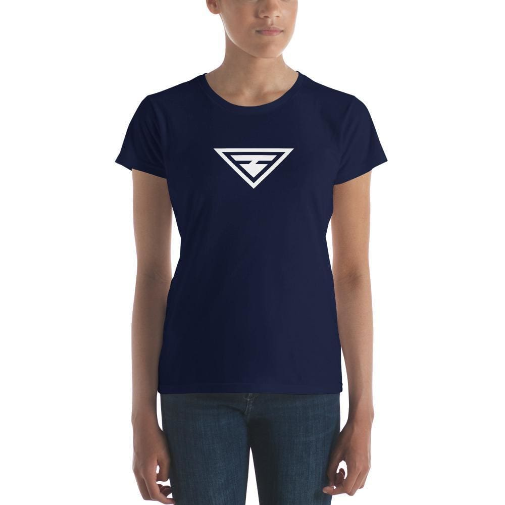 Womens Hero T-shirt - S / Navy - T-Shirts