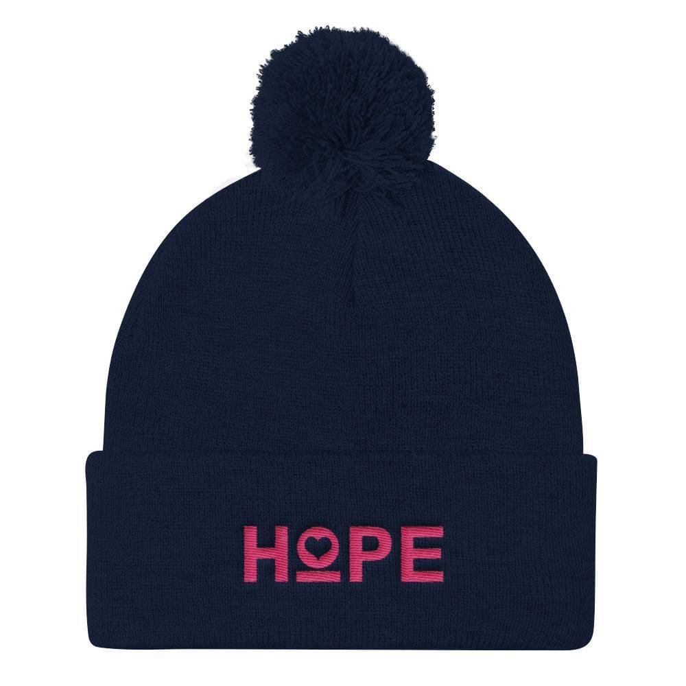 Women's Hope Pom Pom Knit Beanie