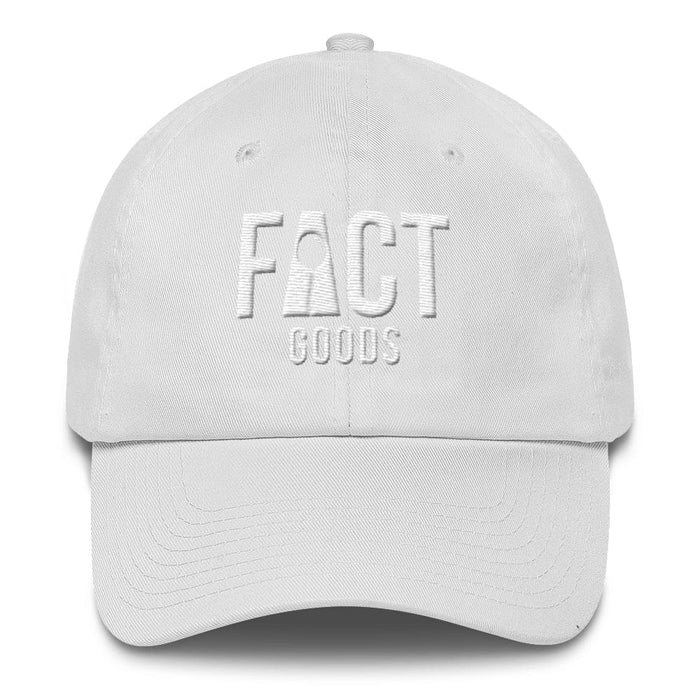 Womens Logo Cotton Adjustable Cap / Dad Hat - One-size / White - Hats