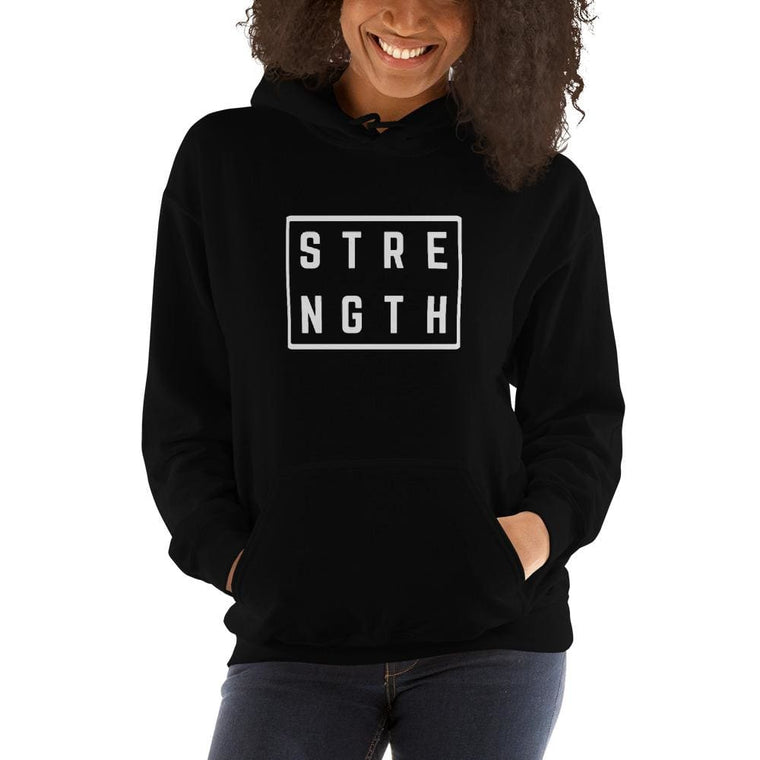 Women's Strength Hoodie Sweatshirt
