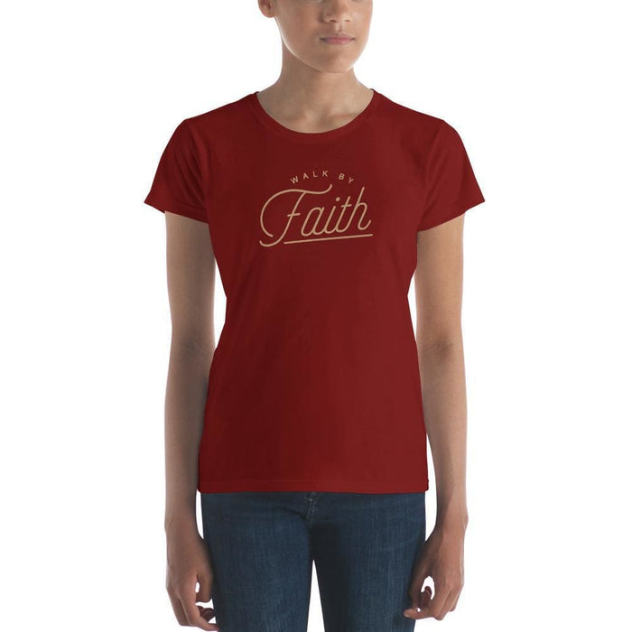 Womens Walk by Faith T-Shirt - S / Independence Red - T-Shirts