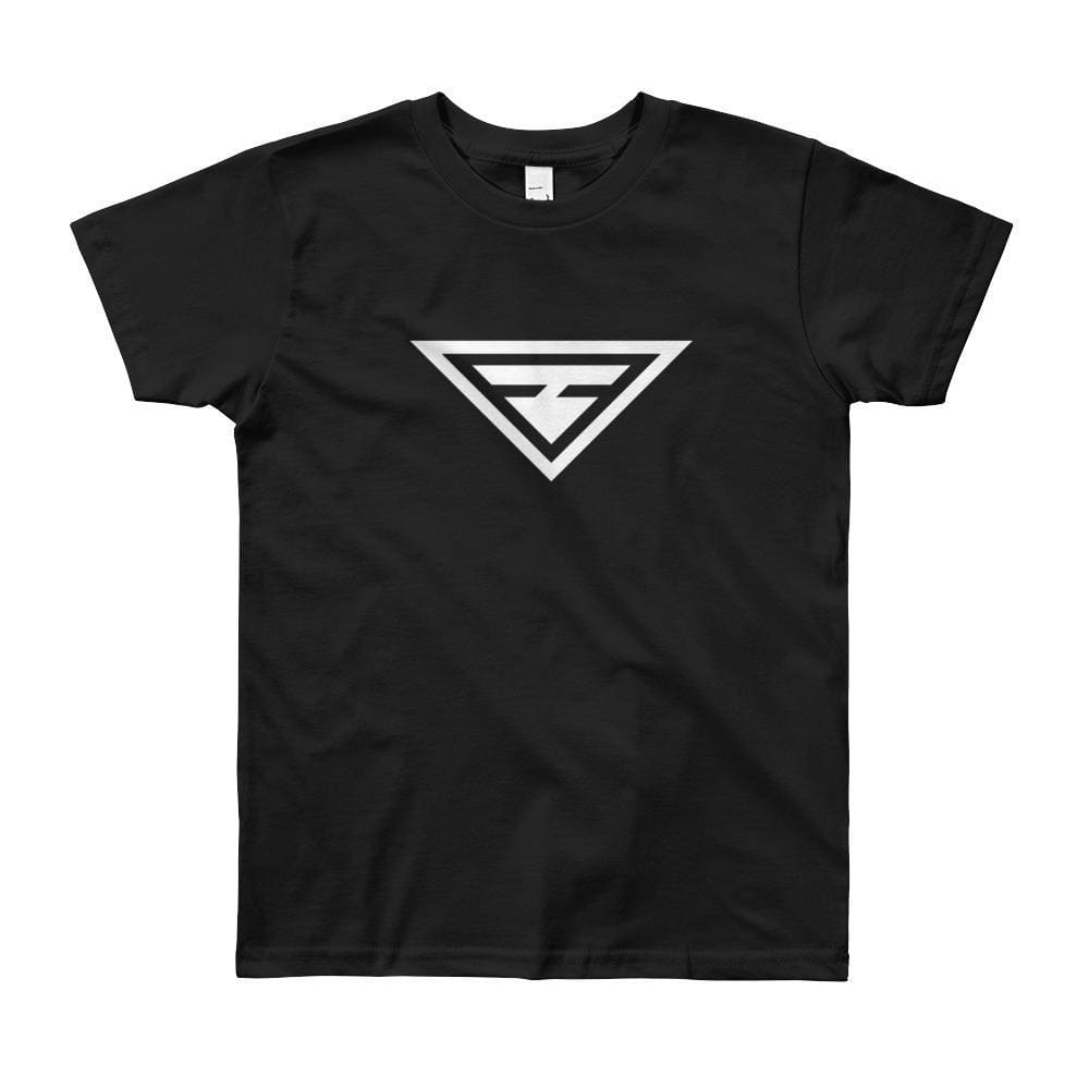 Load image into Gallery viewer, Youth Hero Short Sleeve T-Shirt - 8yrs / Black - T-Shirts