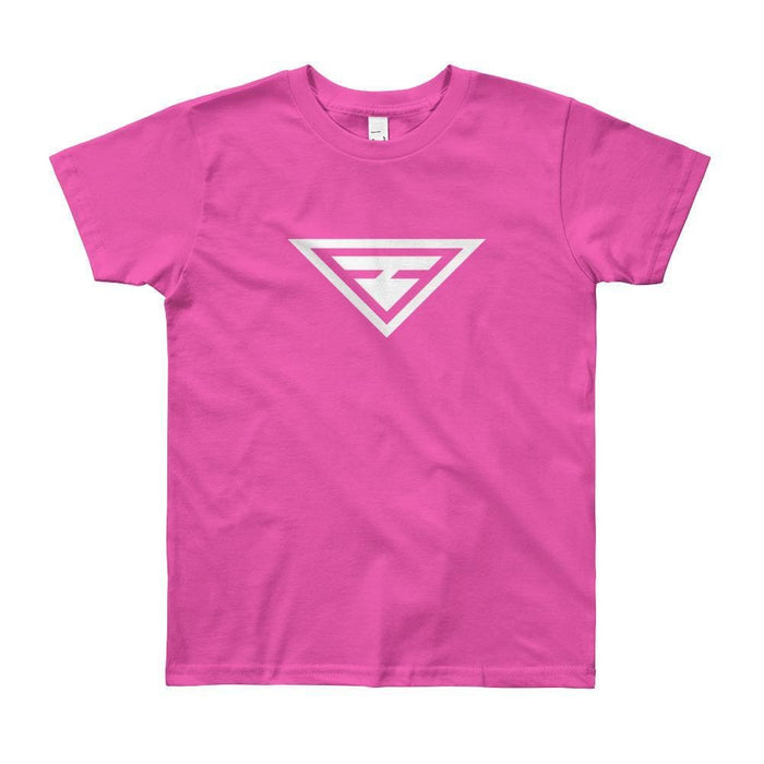 Youth Hero Short Sleeve T-Shirt - 8yrs / Fuchsia - T-Shirts