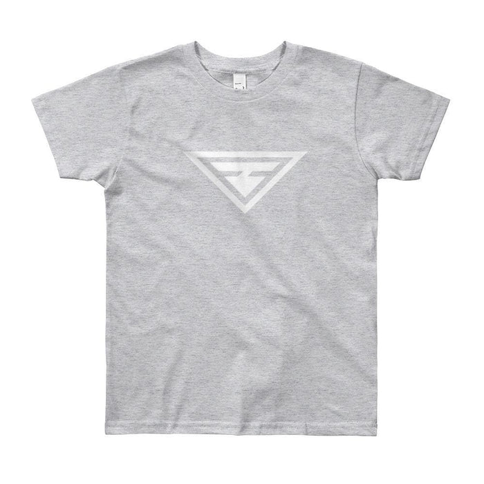 Youth Hero Short Sleeve T-Shirt - 8yrs / Heather Grey - T-Shirts