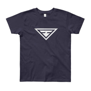 Load image into Gallery viewer, Youth Hero Short Sleeve T-Shirt - 8yrs / Navy - T-Shirts