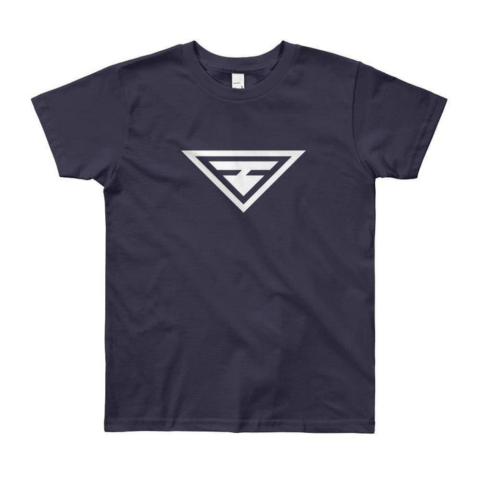 Youth Hero Short Sleeve T-Shirt - 8yrs / Navy - T-Shirts