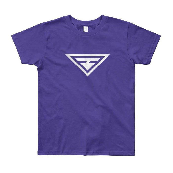 Youth Hero Short Sleeve T-Shirt - 8yrs / Purple - T-Shirts