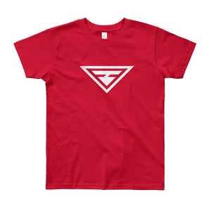 Load image into Gallery viewer, Youth Hero Short Sleeve T-Shirt - 8yrs / Red - T-Shirts