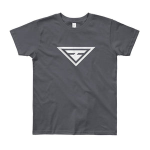 Load image into Gallery viewer, Youth Hero Short Sleeve T-Shirt - 8yrs / Slate - T-Shirts