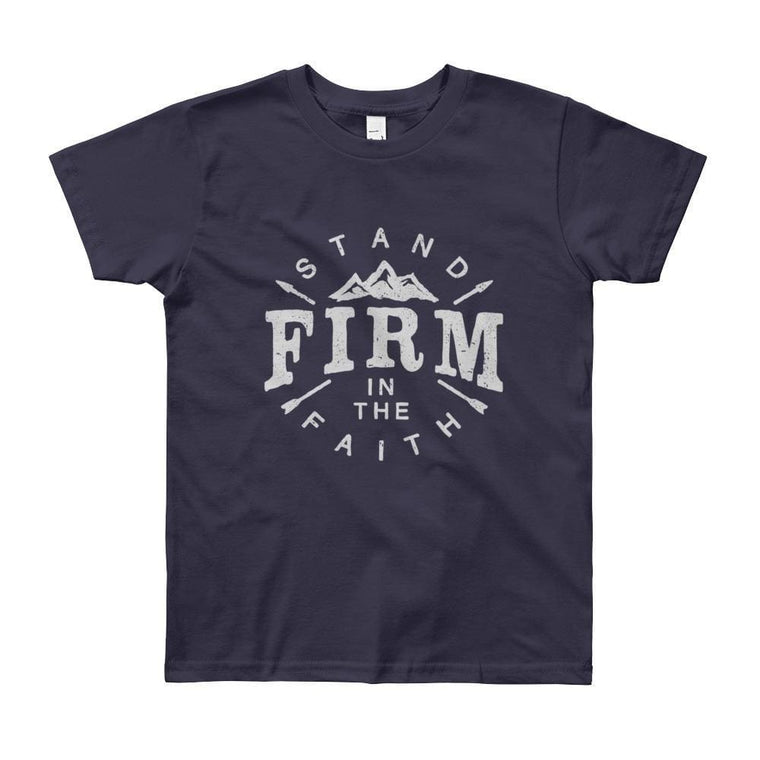 Youth Stand Firm in the Faith Christian T-Shirt