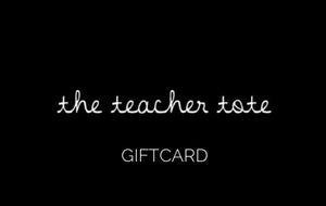 The Teacher Tote Giftcard