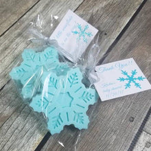 Snowflake Favors with Glitter Tags - more colors available
