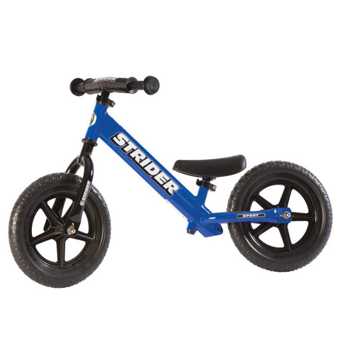 Strider 12x Sport Balance Bike - Blue