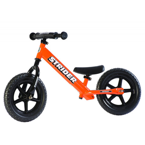 Strider 12x Sport Balance Bike - Orange