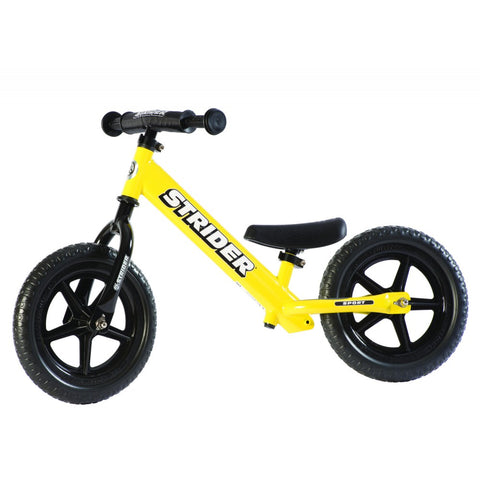 Strider 12x Sport Balance Bike - Yellow