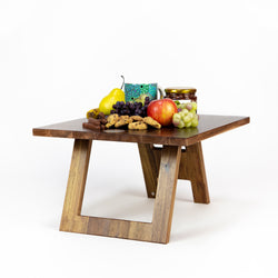 Folding Breakfast Table - Hardwood