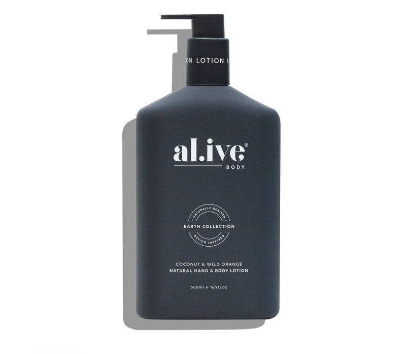 al.ive HAND & BODY LOTION - COCONUT & WILD ORANGE