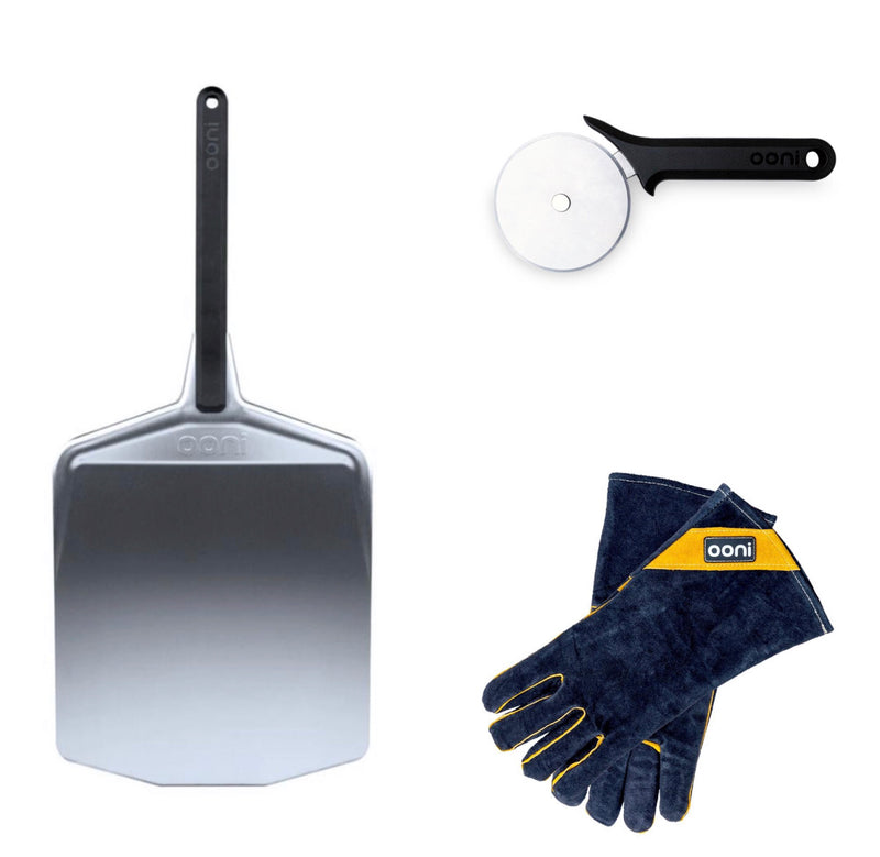 Ooni Essentials Accessory Discounted Bundle plus FREE EXPRESS Shipping with any oven purchase