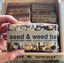 Seed & Weed Cacao and Coconut Hemp Protein Bar