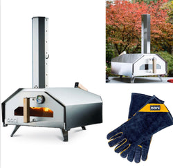 Ooni PRO Portable Outdoor Wood Fired Pizza Oven- Free EXPRESS Shipping and GLOVES-IN STOCK