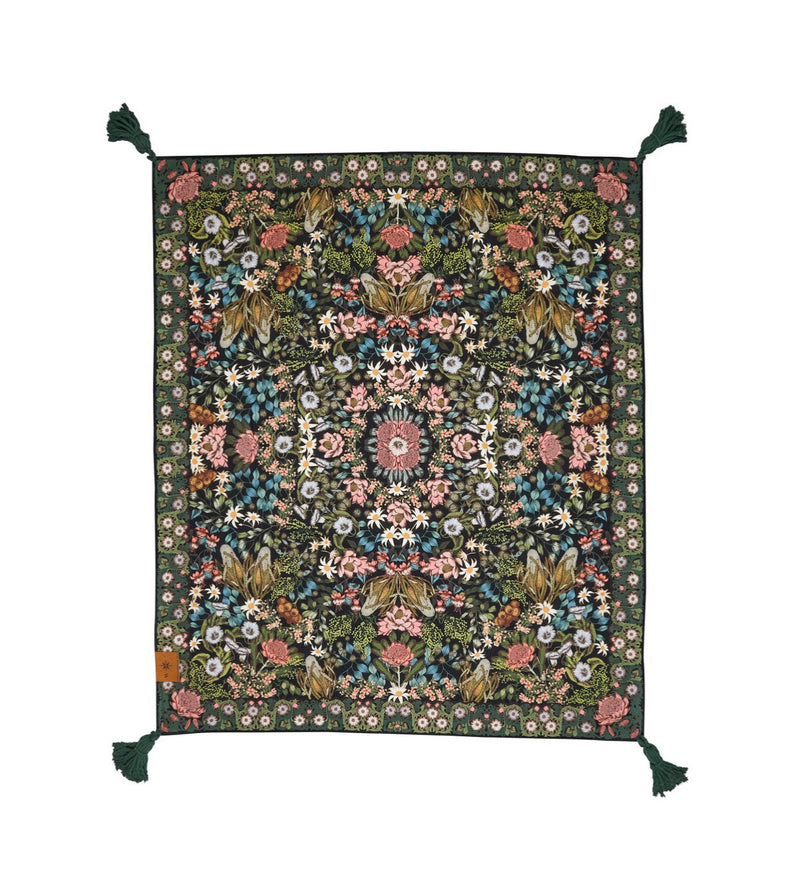 Wandering Folk Native Wildflower Picnic Rug