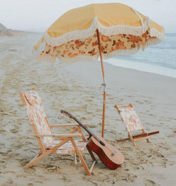 Business and Pleasure PREMIUM BEACH UMBRELLA - PAISLEY BAY
