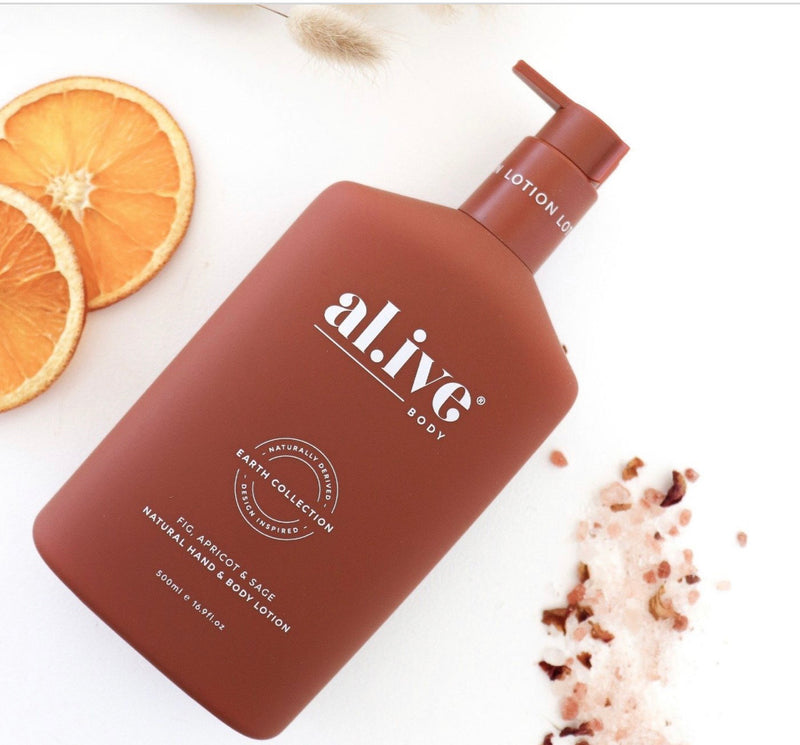al.ive HAND & BODY LOTION - FIG, APRICOT & SAGE